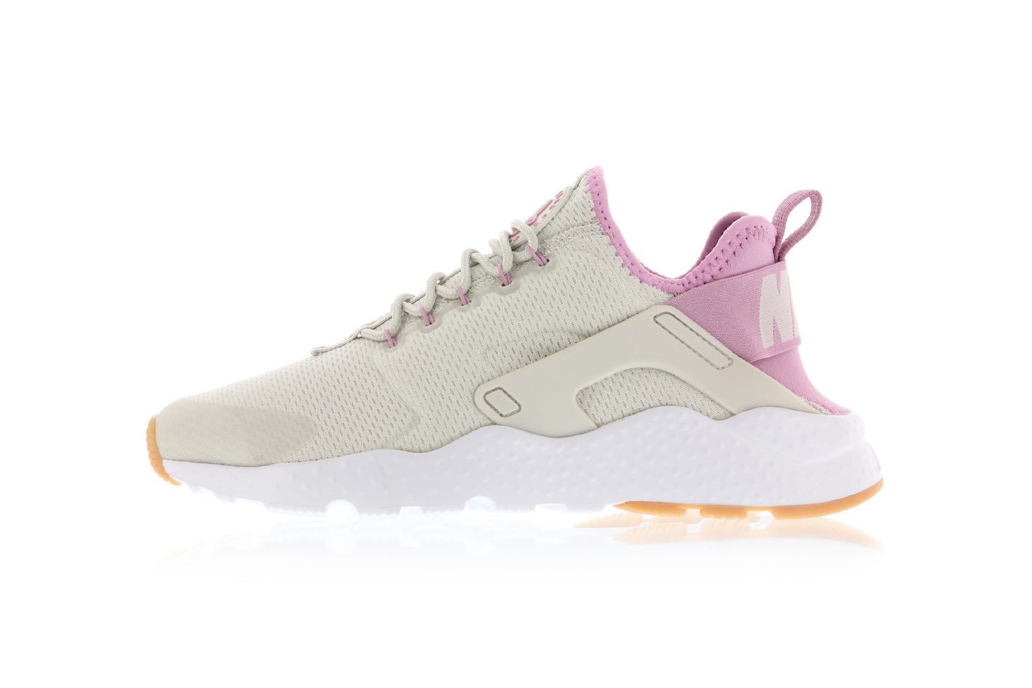 nike huarache ultra blue and pink
