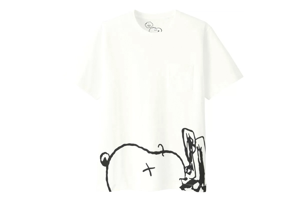 The Kaws X Peanuts X Uniqlo Ut Collection Is Dropping